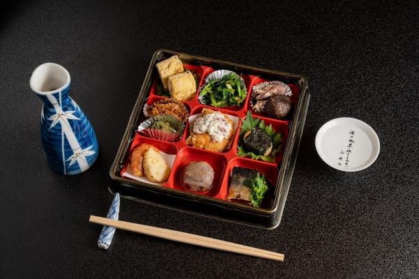 おつまみ前菜+日本酒1合セット